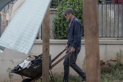 Jeffrey Dean Morgan as Negan in The Walking Dead Season 10, Episode 4