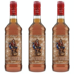 Captain Morgan is offering a Gingerbread Spiced Rum for the holidays.