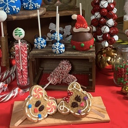 Christmas treats at the Disneyland resort.