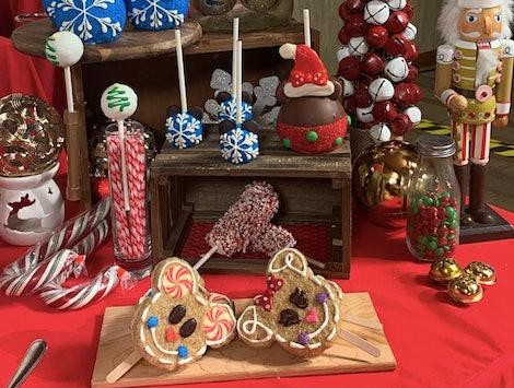 Christmas treats at the Disneyland resort.