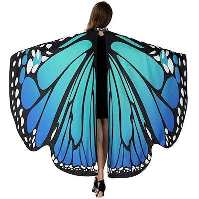 HITOP Butterfly Wings in Bluish Green