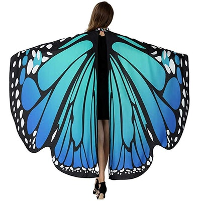 HITOP Butterfly Wings in Bluish Green
