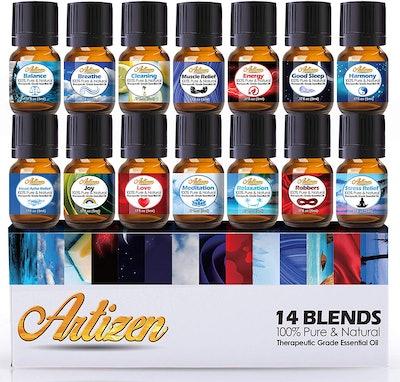 Artizen Best Essential Oil Blends Top 14