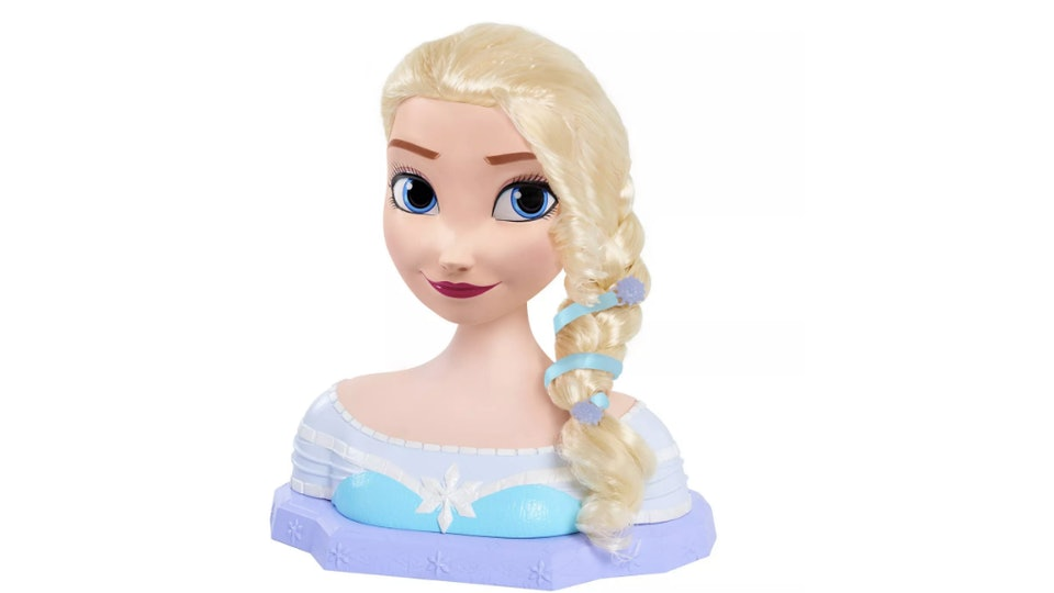 The Princess Elsa styling head is a great Frozen II gift