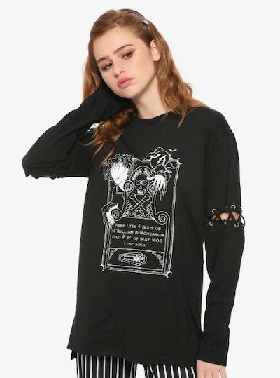 Her Universe Hocus Pocus Billy Glow In The Dark T Shirt