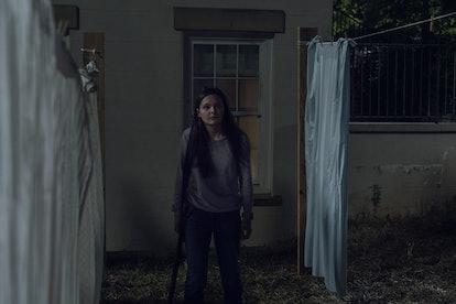 Cassady McClincy as Lydia in The Walking Dead Season 10, Episode 4