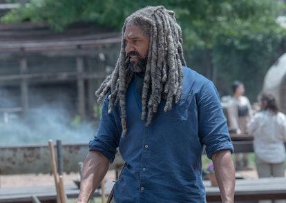 Khary Payton as Ezekiel in The Walking Dead Season 10, Episode 4