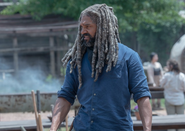 Khary Payton as Ezekiel in The Walking Dead Season 10, Episode 4