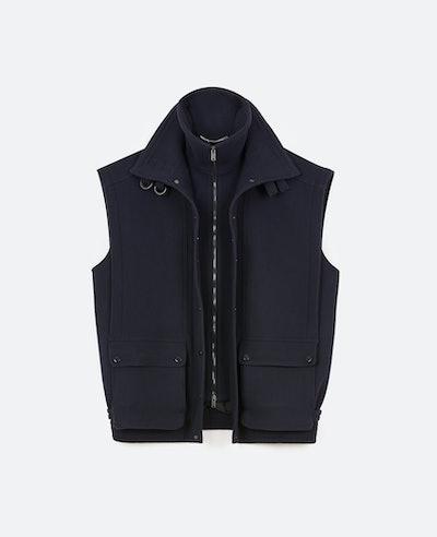 Wool-Felt Waistcoat