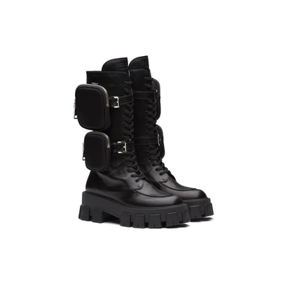 Monolith Leather Boots