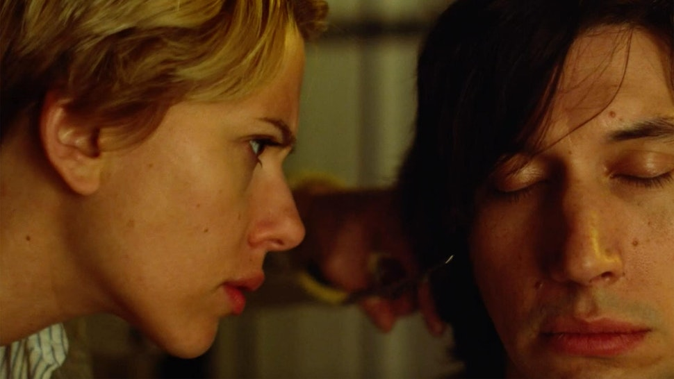Scarlett Johansson as Nicole and Adam Driver as Charlie in Marriage Story