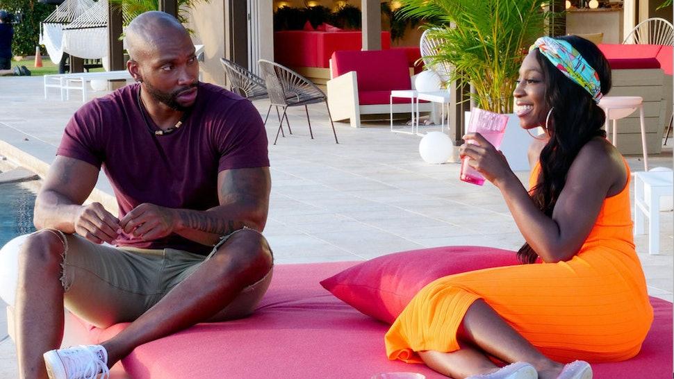 Ashley G. and KB on Temptation Island