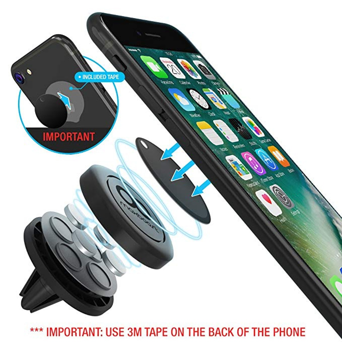 Maxboost Car Mount, [2 Pack]