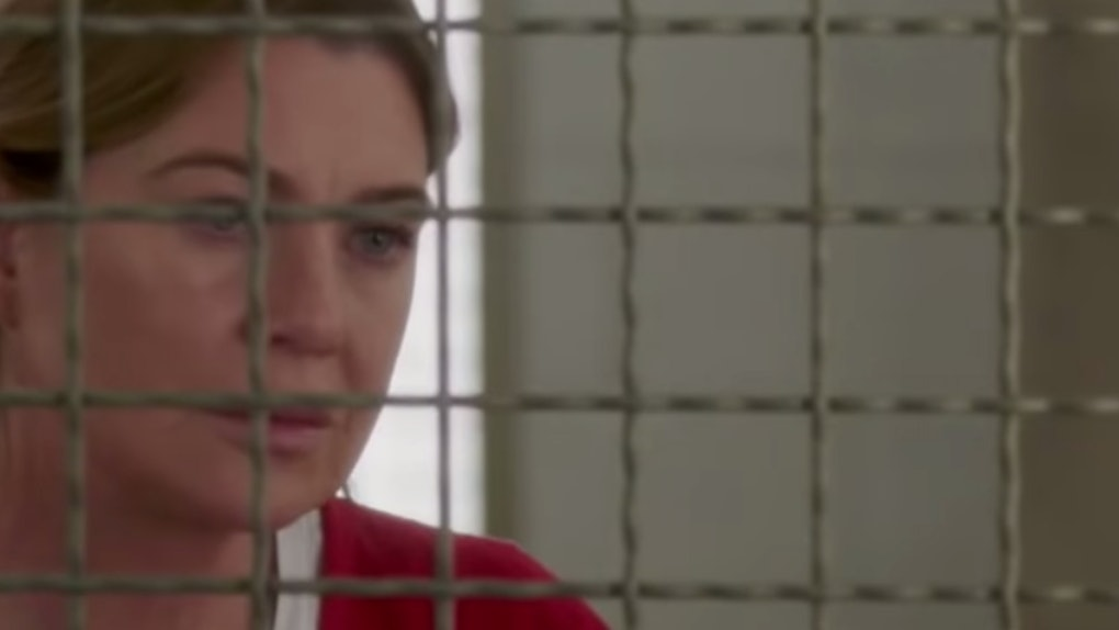 Meredith Grey in the 'Grey's Anatomy' Season 16 Episode 6 promo
