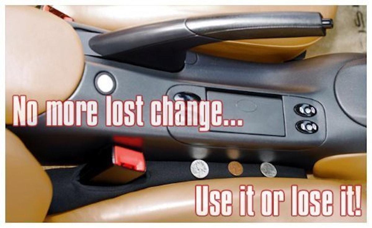 Drop Stop The Original Patented Car Seat Gap Filler