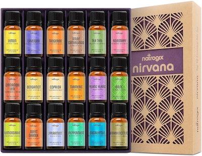 Natrogix Nirvana Essential Oil Set of 18