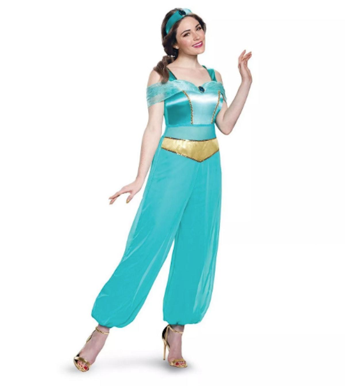 Women's Aladdin Disney Princess Jasmine Deluxe Adult Costume