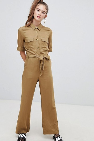 Monki Utility Belted Boilersuit