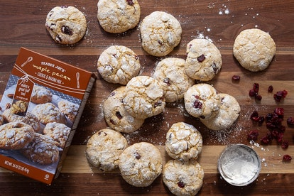 TJ's maple pecan cookie baking mix is the perfect sweet treat when you're short on time. Image credit: Trader Joe's