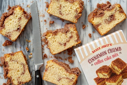 Bake Trader Joe's cinnamon crumb coffee cake in less than an hour. Image credit: Trader Joe's