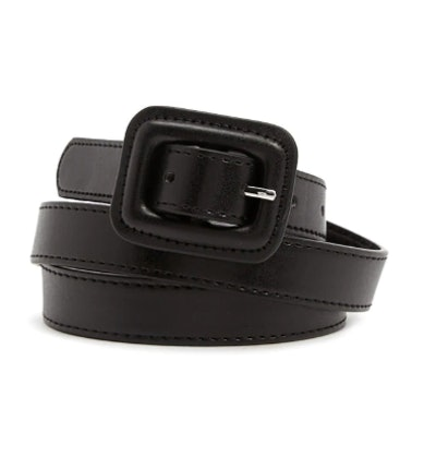 Square-Buckle Skinny Hip Belt