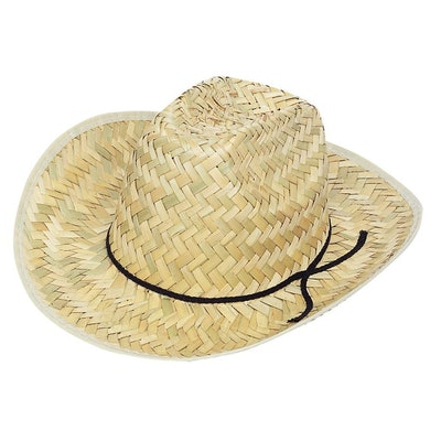Adult Straw Western Hat