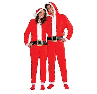 Zipster Santa One Piece Costume