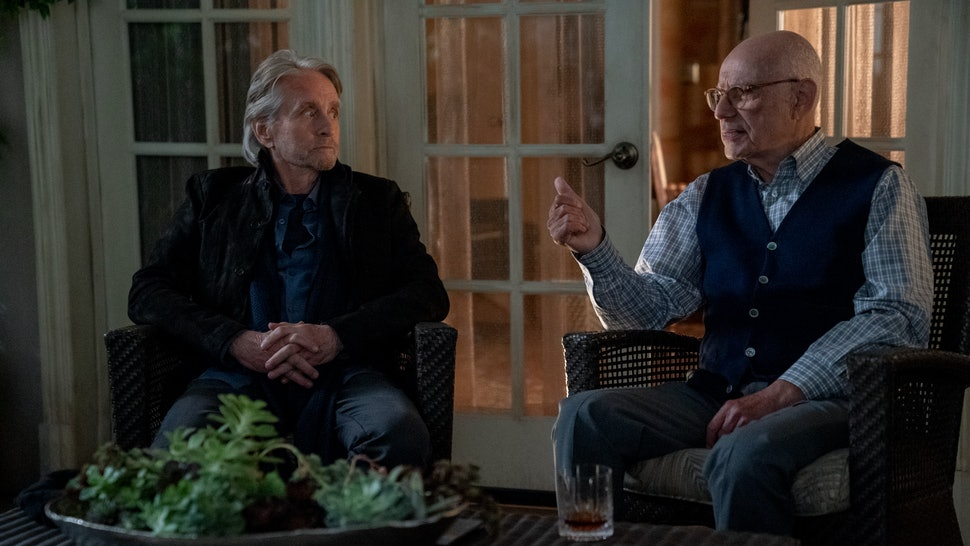 The Kominsky Method Season 2 cast Michal Douglas and Alan Arkin