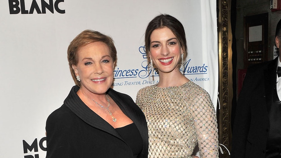 "Julie Andrews didn't know there was a ""Princess Diaries"" 3 script"