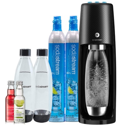 SodaStream Fizzi One-Touch Sparkling Water Bundle
