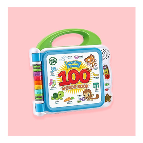 LeapFrog Learning Friends 100 Words Book (18m+)