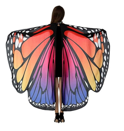 HITOP Butterfly Wings in Rosy Blue