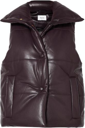Morillo Vegan Leather Vest