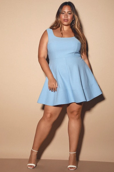 Home Before Daylight Pretty Periwinkle Dress