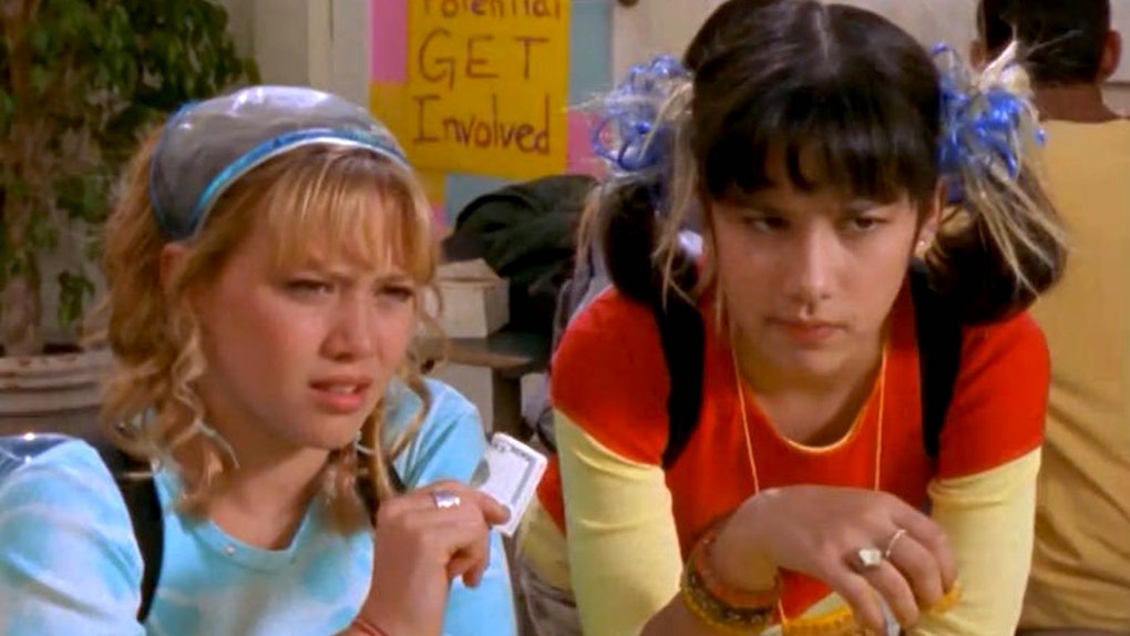 Miranda with Lizzie from 'Lizzie McGuire'