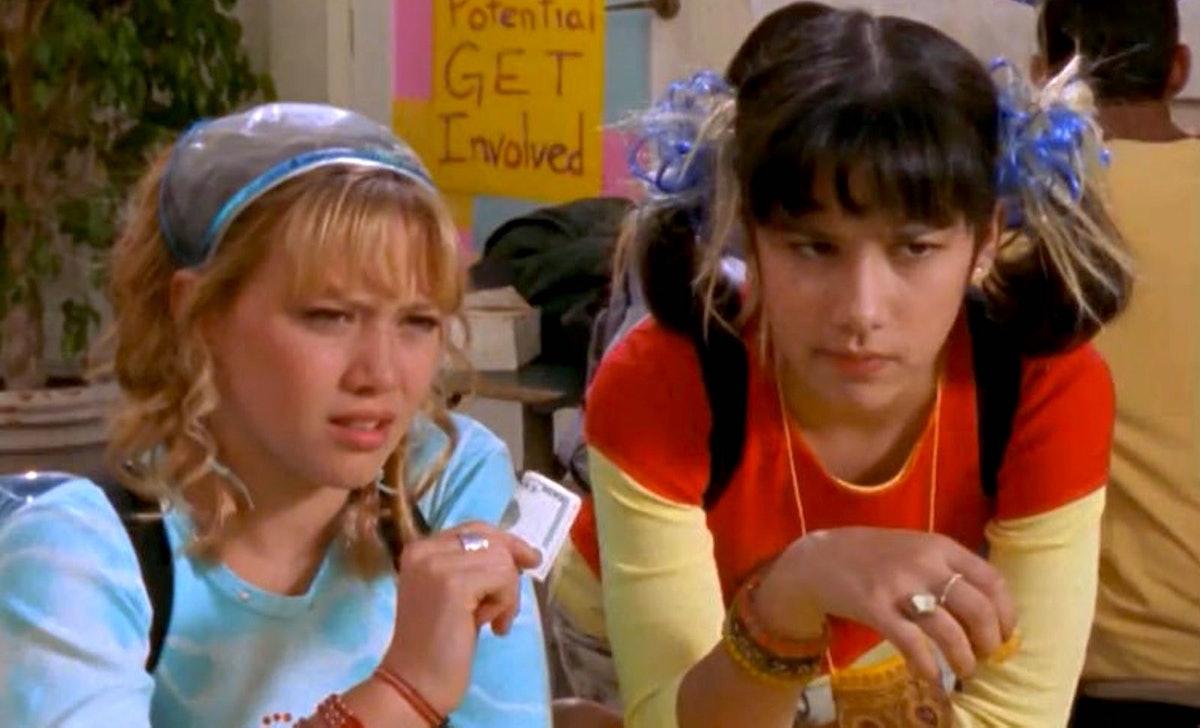 Miranda with Lizzie from 'Lizzie McGuire'
