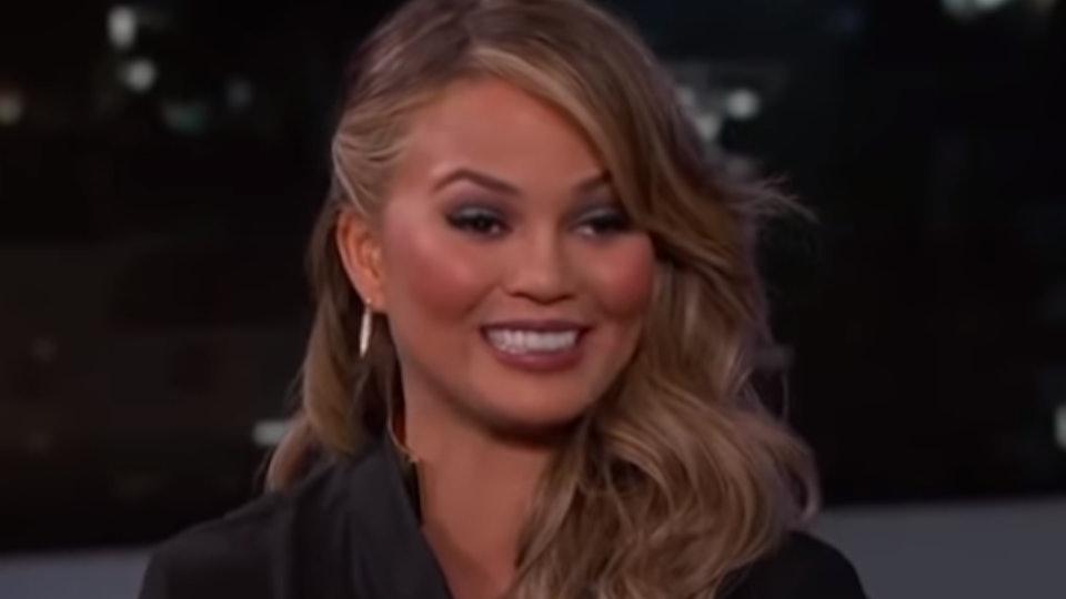 """Chrissy Teigen on """"Late Night With Jimmy Kimmel"""""""