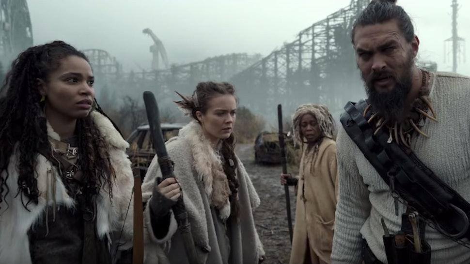 Jason Momoa stars in Apple TV's new series See.