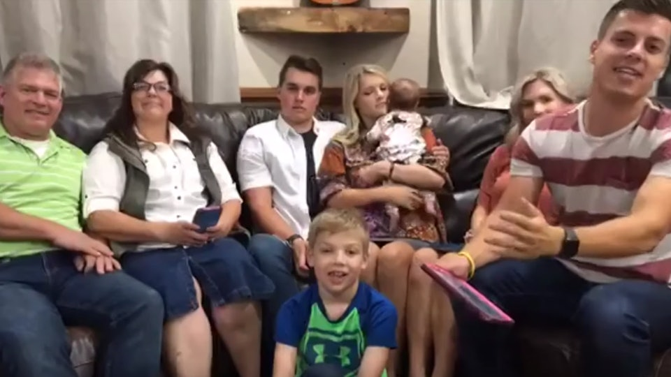 The Bates grandchildren and stars of UPtv's 'Bringing Up Bates' get along just as well as their parents do.