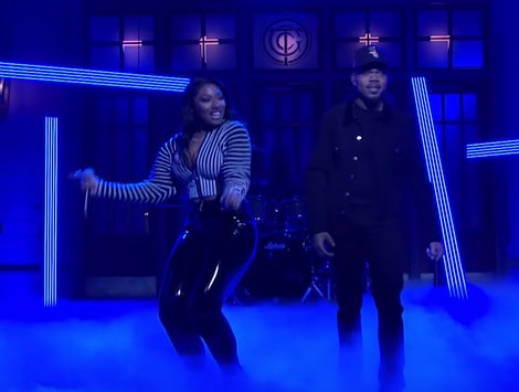 Chance the Rapper's 'SNL' performance includes a Megan thee Stallion cameo