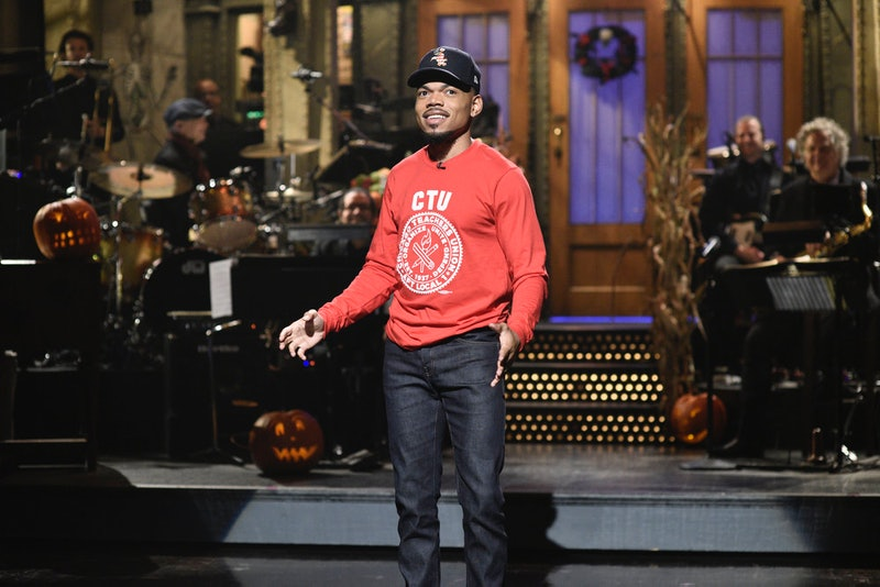 Chance the Rapper's 'SNL' monologue paid tribute to Luigi and 'Angel.'