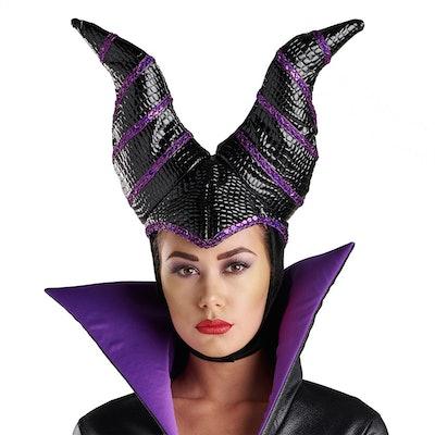 Maleficent Horned Headdress for Adults