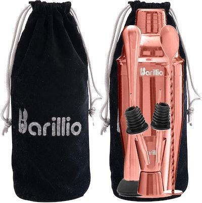 Barillio Rose Copper Cocktail Shaker Set