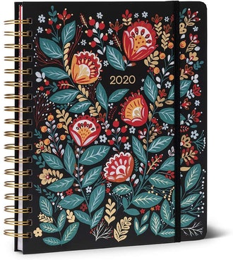 High Note 2020 Dinara's Wildflowers Deluxe 18-Month Hardcover Weekly Planner