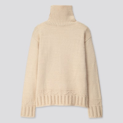 Low Gauge Turtleneck Sweater