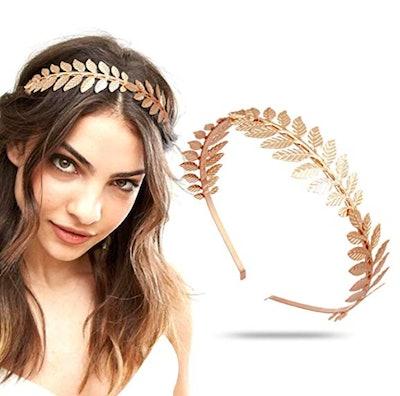 RechicGu Roman Leaf Headband