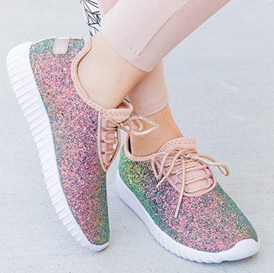 Forever Link Glitter Fashion Sneaker