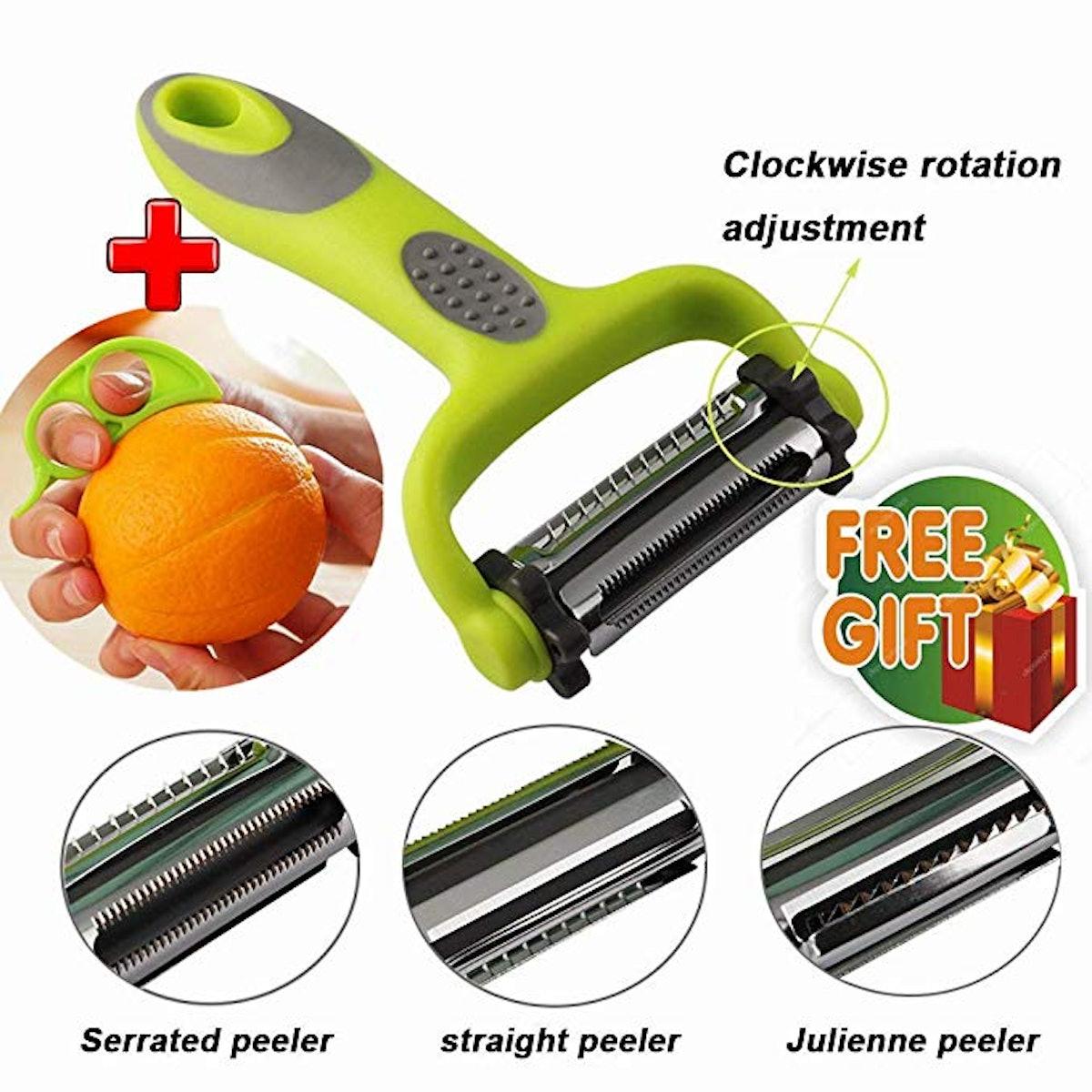 PICNIC CAMPING Multi-function 3-In-1 Vegetable Peeler