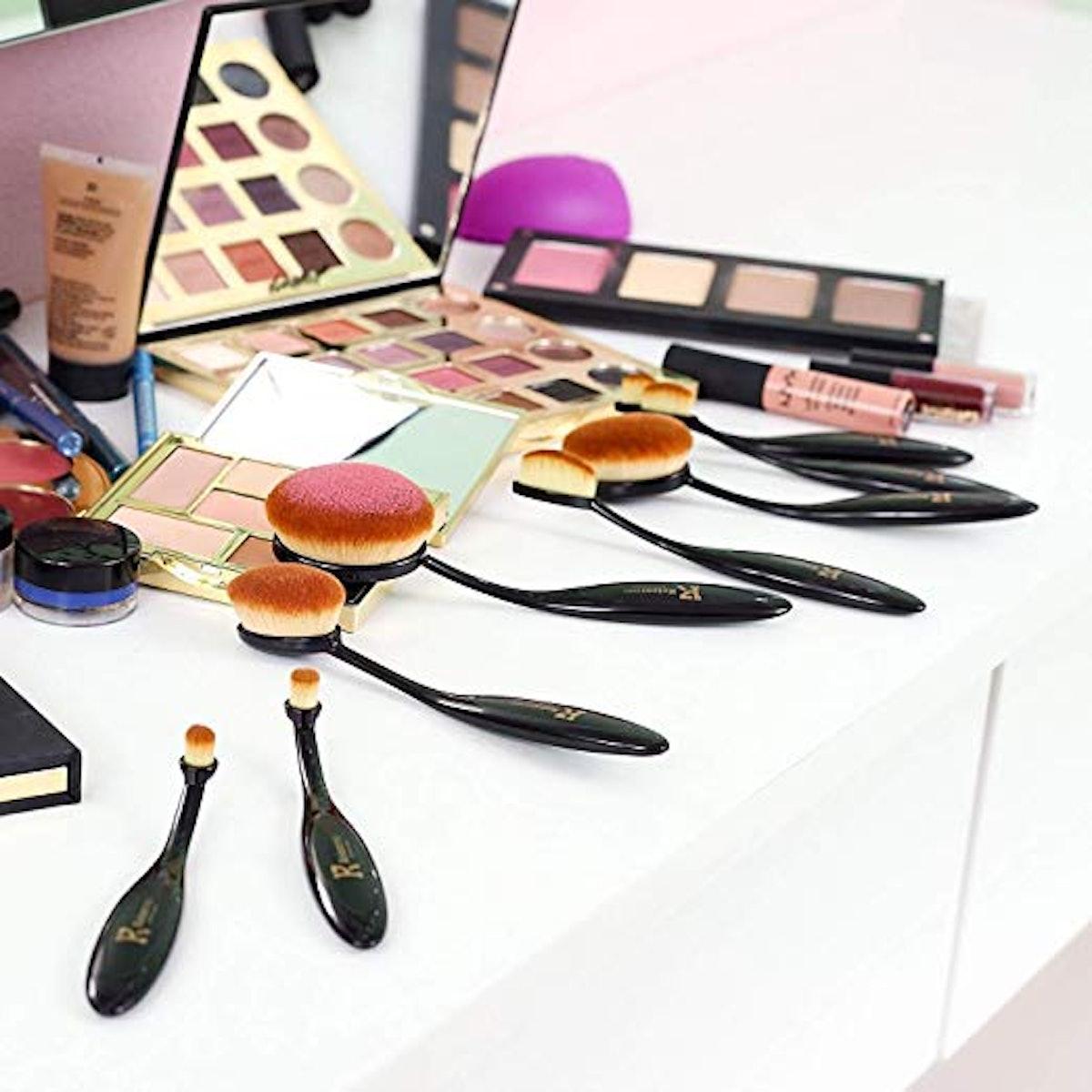 KeizerPro Premium Makeup Brush Set (10-Pack)