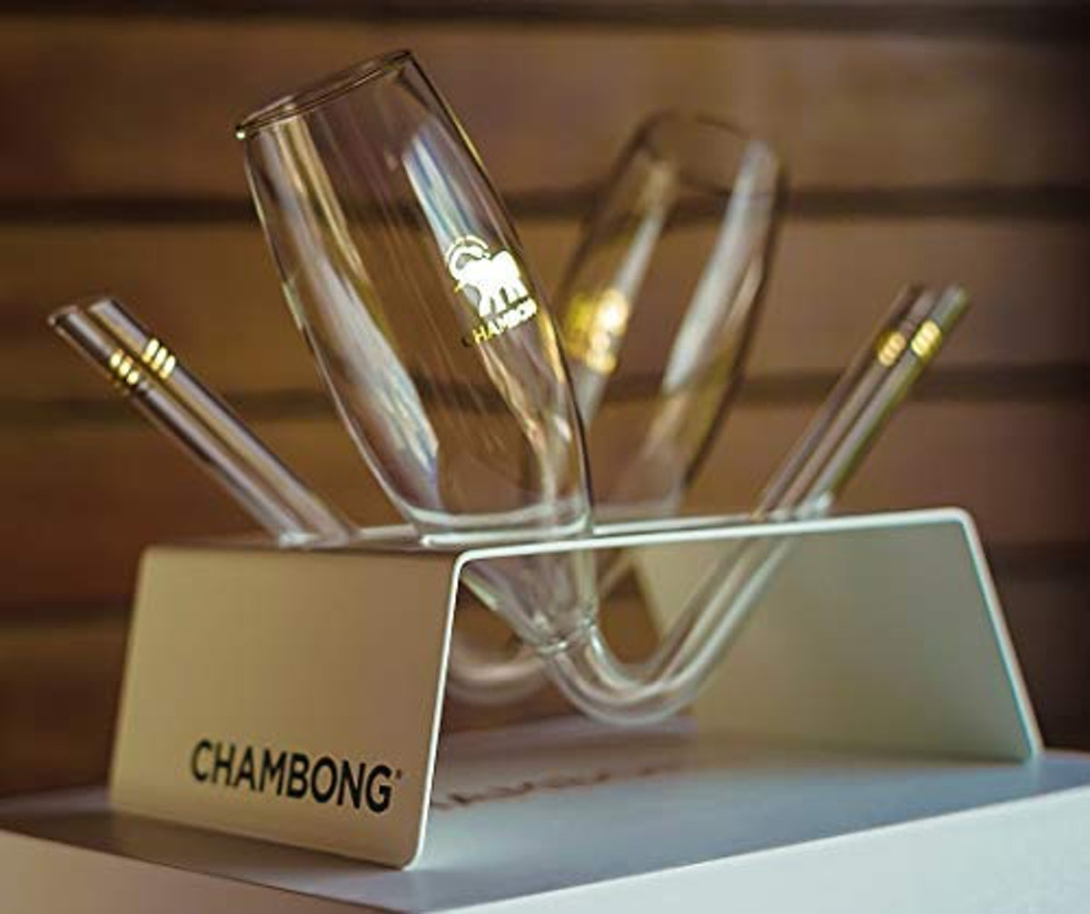 Chambong - Glass Champagne Shooters (2-Pack)